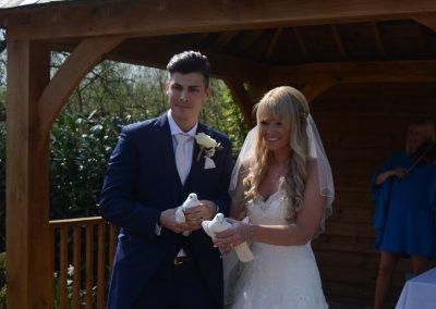 Wedding Dove Release Hertfordshire