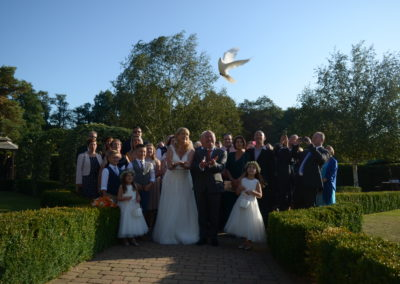 Wedding Angel Wings Dove Release